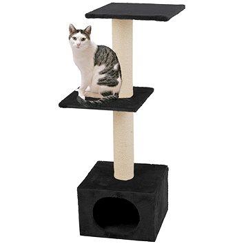 Karlie Škrabadlo pro kočky černé 35 × 35 × 103 cm (4016598343029)
