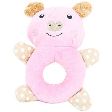 Akinu hračka Mimi plyš pro štěňata 14 cm prasátko (8595184951191)