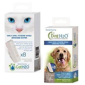 Akinu Dentální péče pro kočky i psy H2O, 8 ks (4897030554261)