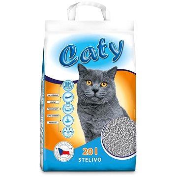 Caty křemelinové stelivo pro kočky 20 l (8595184947477)