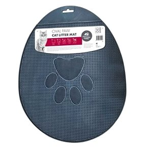 M-Pets Oval Paw tlapka 43 × 35 cm černá (6953182714958)