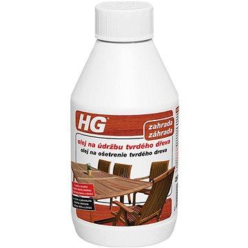 HG olej na údržbu tvrdého dřeva 250 ml (8711577136222)