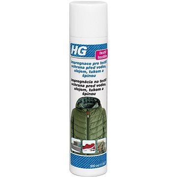 HG Impregnace pro textil ochrana před vodou, olejem, tukem a špínou 300 ml (8711577014599)