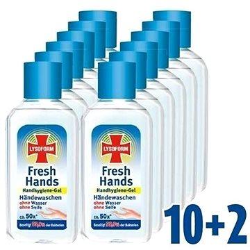 LYSOFORM Fresh Hands Hygienický gel na ruce 12× 50 ml (9000101398915)