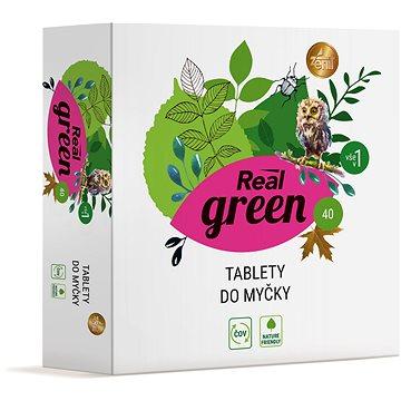 REAL GREEN tablety do myčky 40 ks (8594004375759)