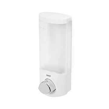 Compactor UNO RAN6013 dávkovač mýdla / šampónu na zeď, bílý plast, 360 ml (3370910065985)