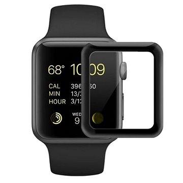COTEetCI 4D sklo s celoplošným lepením s černým lemem pro Apple Watch 38 mm (CS2216-38)