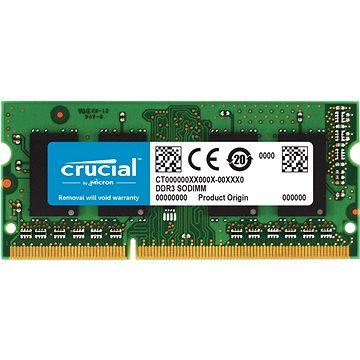 Crucial SO-DIMM 4GB DDR3L 1600MHz CL11 (CT51264BF160B)