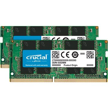Crucial SO-DIMM 16GB KIT DDR4 2400MHz CL17 Single Ranked x8 (CT2K8G4SFS824A)