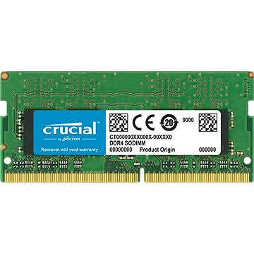 Crucial SO-DIMM 4GB DDR4 2666MHz CL19 Single Ranked (CT4G4SFS8266)