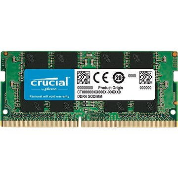 Crucial SO-DIMM 16GB DDR4 2666MHz CL19 (CT16G4SFRA266)