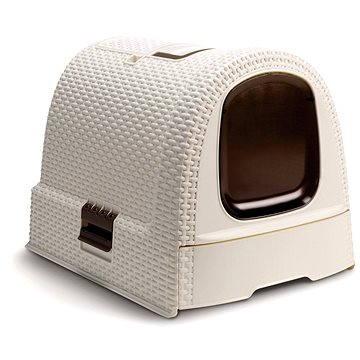 Curver Toaleta pro kočky Rattan 00615-P16 (00615-P16)