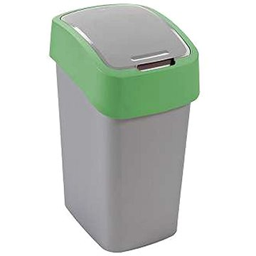 Curver odpadkový koš Flipbin 10L zelený