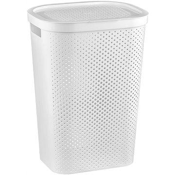 Curver Koš na špinavé prádlo INFINITY 59L - bílý (04754-N23-00)