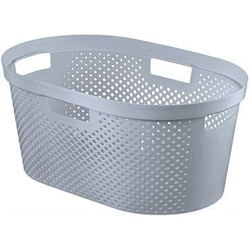Curver Koš na čisté prádlo INFINITY 39L- šedý (04755-099-00)