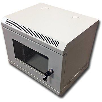 "Datacom 10"" 6U/280 mm (sklo) šedý (7011)"