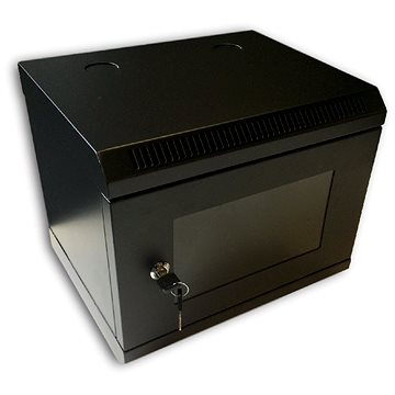 "Datacom 10"" 6U/280 mm (sklo) černý (7031)"