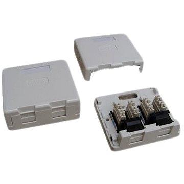 Datacom Datová zásuvka UTP CAT5E na omítku 2334 (2334)
