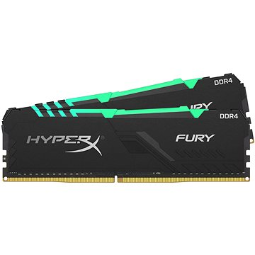 HyperX 16GB KIT DDR4 2400MHz CL15 RGB FURY series (HX424C15FB3AK2/16)