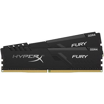 HyperX 32GB KIT DDR4 3733MHz CL19 FURY Black series (HX437C19FB3K2/32)