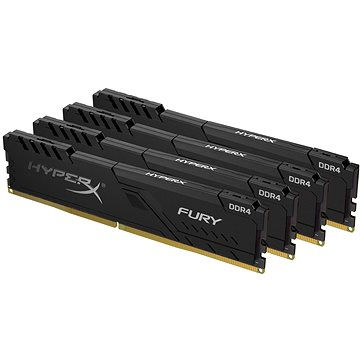 HyperX 64GB KIT DDR4 2400MHz CL15 FURY Black (HX424C15FB4K4/64)