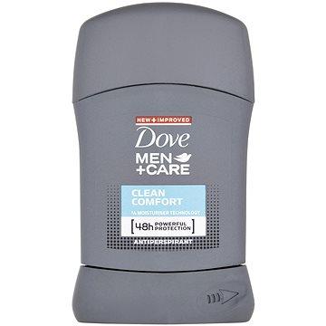DOVE Men+Care Clean Comfort tuhý antiperspirant pro muže 50 ml (50220021)