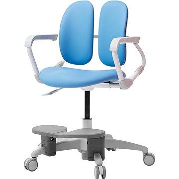 3DE Duorest Milky modrá s podpěrou nohou (3DEMI218F_BLUE)