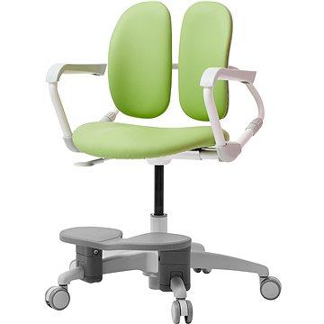 3DE Duorest Milky zelená s podpěrou nohou (3DEMI218F_GREEN)