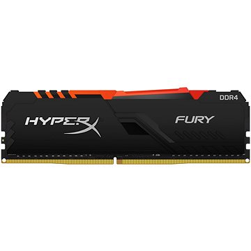 HyperX 16GB DDR4 2400MHz CL15 FURY RGB series (HX424C15FB4A/16)