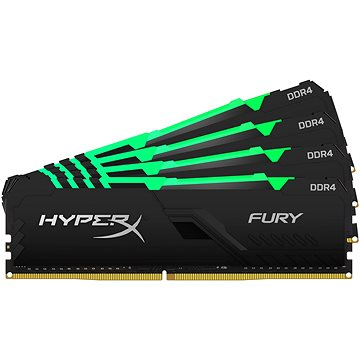HyperX 64GB KIT DDR4 2400MHz CL15 FURY RGB series (HX424C15FB4AK4/64)