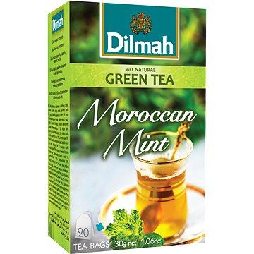Dilmah Čaj zelený Marocká máta 20x1,5g (9312631142457)