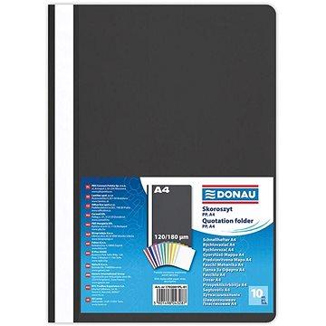 DONAU A4 černý - balení 10 ks (1702001PL-01)