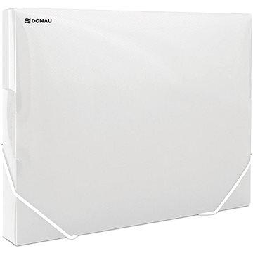DONAU Propyglass A4 - transparentní, bílé (8545001PL-00)