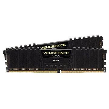 Corsair 16GB KIT DDR4 2666MHz CL16 Vengeance LPX černá (CMK16GX4M2A2666C16)