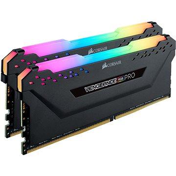 Corsair 32GB KIT DDR4 3200MHz CL16 Vengeance RGB PRO černá (CMW32GX4M2E3200C16)