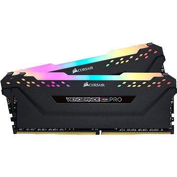 Corsair 16GB KIT DDR4 3200MHz CL16 Vengeance RGB PRO černá (CMW16GX4M2E3200C16)