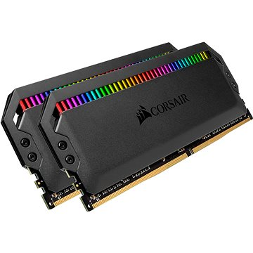 Corsair 16GB KIT DDR4 3200MHz CL16 Dominator Platinum RGB Black (CMT16GX4M2E3200C16)