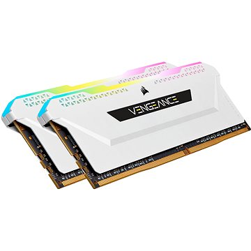 Corsair 16GB KIT DDR4 3200MHz CL16 VENGEANCE RGB PRO SL White (CMH16GX4M2E3200C16W)
