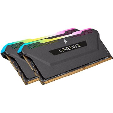 Corsair 16GB KIT DDR4 3200MHz CL16 VENGEANCE RGB PRO SL Black (CMH16GX4M2Z3200C16)