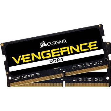 Corsair SO-DIMM 16GB KIT DDR4 2400MHz CL16 Vengeance černá (CMSX16GX4M2A2400C16)