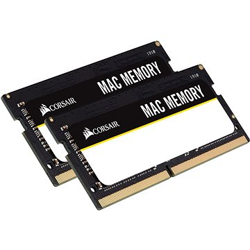 Corsair SO-DIMM 16GB KIT DDR4 2666MHz CL18 Mac Memory (CMSA16GX4M2A2666C18)