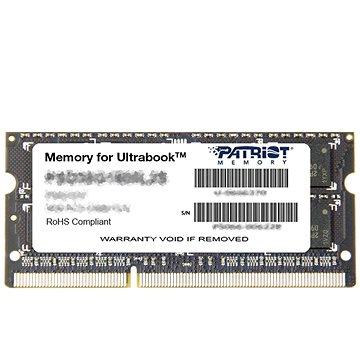 Patriot SO-DIMM 8GB DDR3 1600MHz CL11 Ultrabook Line (PSD38G1600L2S)
