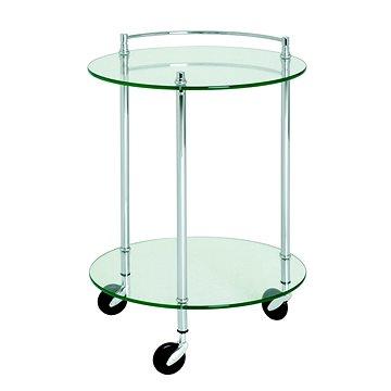 Servírovací stolek Stein, 63 cm, stříbrná (HA00843)