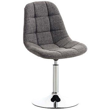 Jídelní otočná židle Miley textil šedá (C1001978)