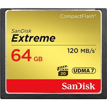 Sandisk Compact Flash 64GB Extreme (SDCFXSB-064G-G46)