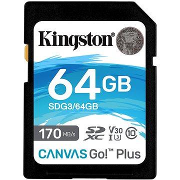 Kingston SDXC 64GB Canvas Go! Plus (SDG3/64GB)