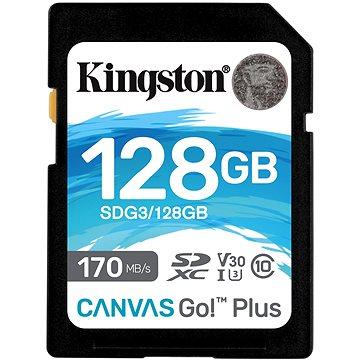 Kingston SDXC 128GB Canvas Go! Plus (SDG3/128GB)