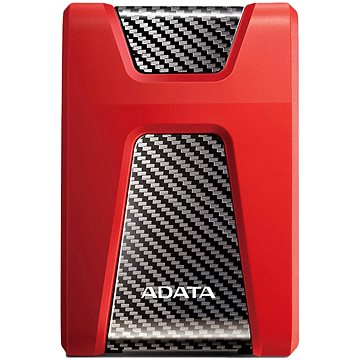 ADATA HD650 HDD 1TB červený (AHD650-1TU31-CRD)