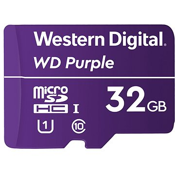 WD SDHC 32GB Purple QD101 (WDD032G1P0C)