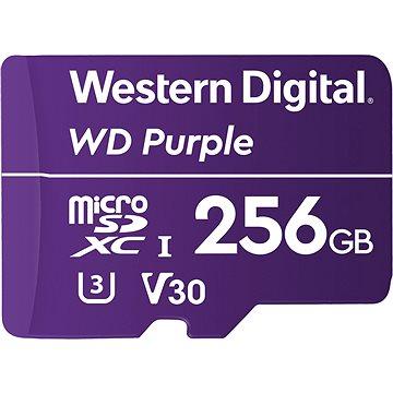 WD SDXC 256GB Purple QD101 (WDD256G1P0C)